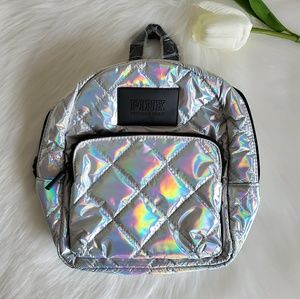 PINK VICTORIA'S SECRET SMALL BACKPACK